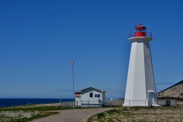 Cape Anguille Lighthouse,  Cape Anguille, NL