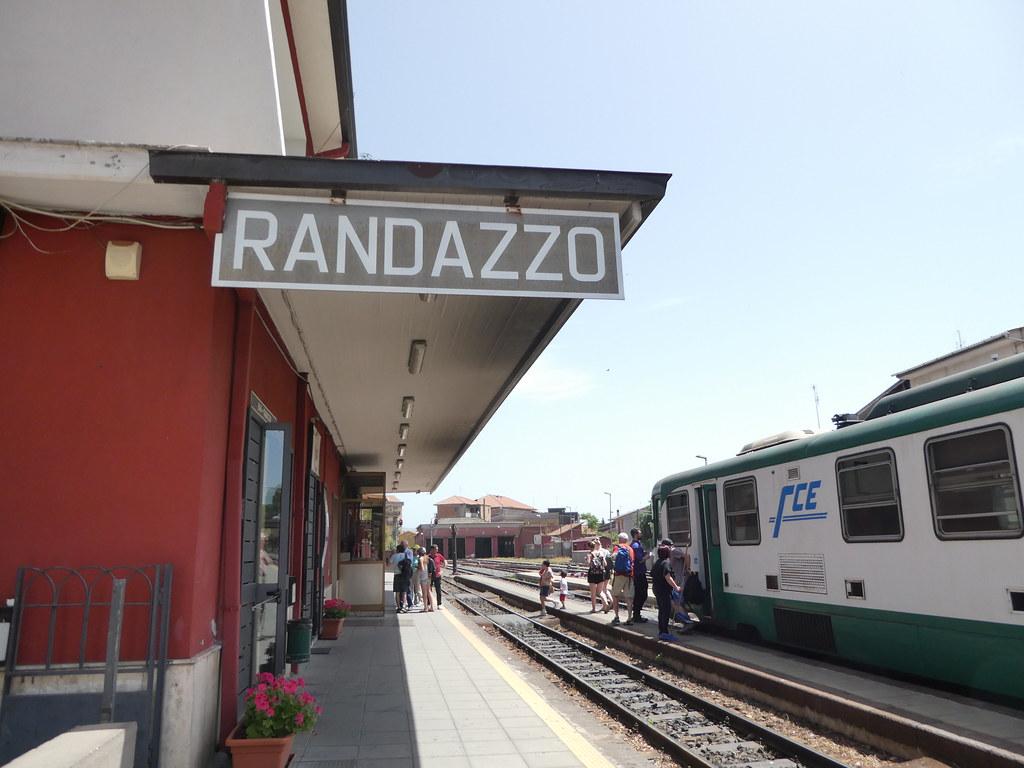 Randazzo Station, Sicily