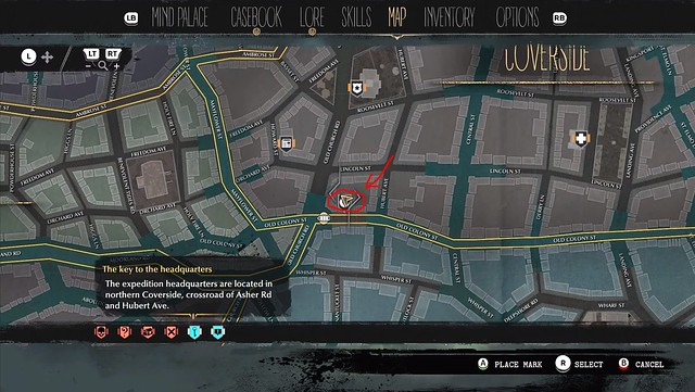 The Sinking City - Devil's Reef Hotel Location