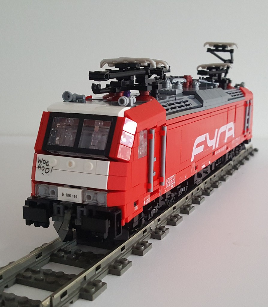 NS Hispeed Fyra Traxx F140 MS2 - 3/4th front view