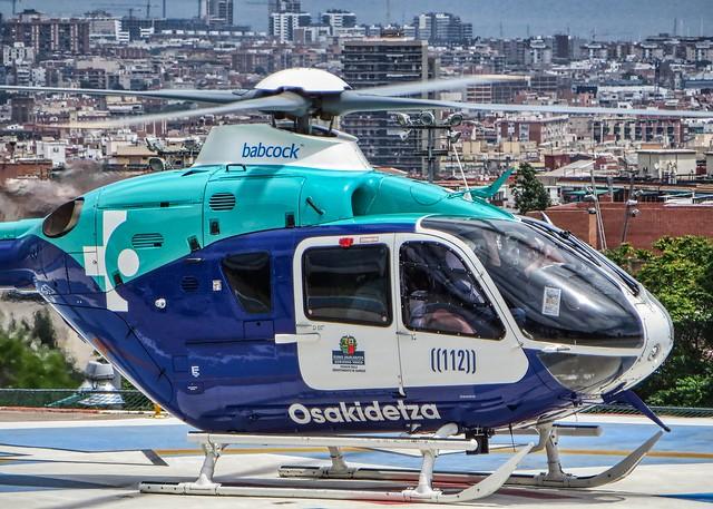 Eurocopter EC135 T2 EC-JHT
