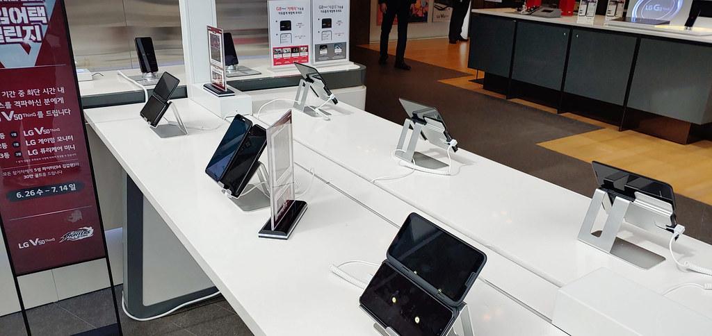 LG V50 ThinQ KoF Mobile Game Festival