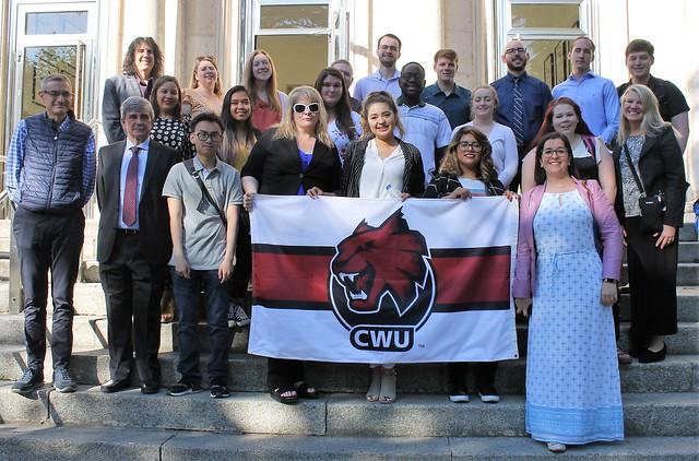 Visita CWU a León