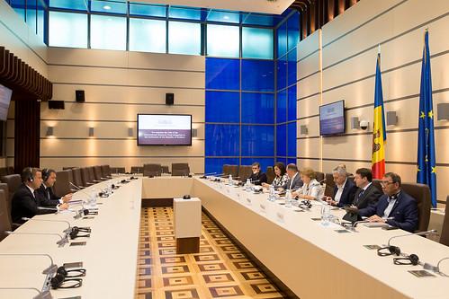 26.06.2019 Întrevedere Zinaida Greceanîi, Președintele Parlamentului RM, cu Ruben Atoyan, șeful Misiunii FMI și Volodymyr Tulin, reprezentant permanent FMI în Republica Moldova.