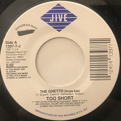 TOO SHORT:THE GHETTO(LABEL SIDE-A)