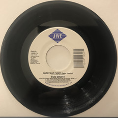 TOO SHORT:SHORT BUT FUNKY(RECORD SIDE-A)
