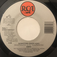 SWV:DOWNTOWN(LABEL SIDE-A)