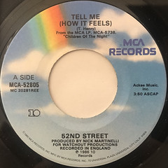 52ND STREET:TELL ME(LABEL SIDE-A)