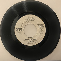 MICHAEL JACKSON:THRILLER(RECORD SIDE-A)