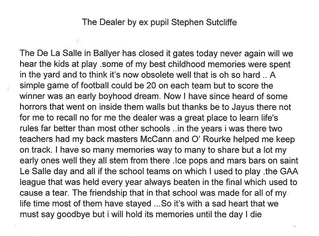 The Dealer Poem by Stephen Sutcliffe