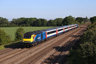 Porterbrook HST at Cossington.