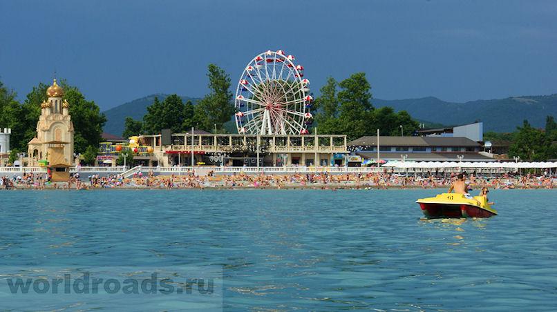 Пляжи Архипо-Осиповки