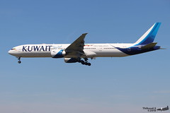 Boeing 777 -369(ER) KUWAIT AIRWAYS 9K-AOL 62570 Francfort juin 2019