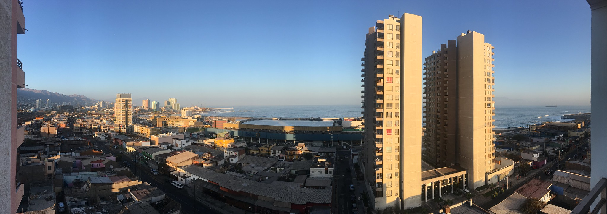 View from balcony at Montevideo 143