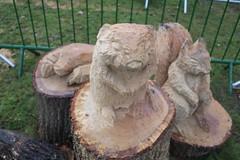 Andrew Frost's sculptures