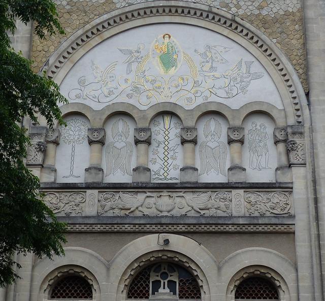 Où??? quoi? Bordeaux, Gironde: église Sainte Geneviève, 1926-27
