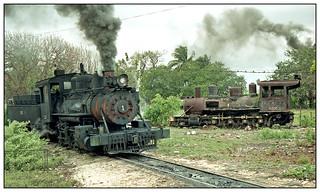 1996-0260 - 1333 (left), 1335, Obdulio Morales sugar mill, Cuba, 4.3.96.