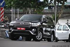 Toyota Land Cruiser - Georgia, diplomatic plate