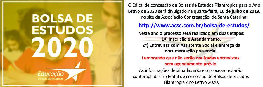 Em breve, inscrições Bolsas 2020 no Colégio Perpétuo Socorro. Saiba como participar!