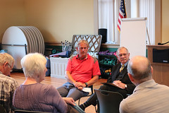 Rep. Simanski and Sen. Witkos hosted a town hall in New Hartford
