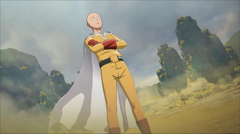 One Punch Man A Hero Nobody Knows - Saitama
