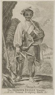 Kanien'kehá:ka (Mohawk) warrior sketch / Esquisse d'un guerrier kanien'kehá:ka (mohawk)