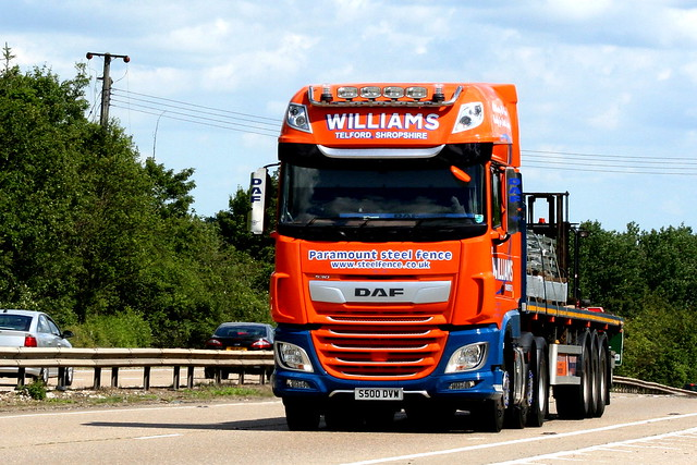 DAF XF S500DVW WILLIAMS TRANSPORT