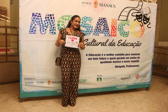 Servidores de Educação prestigiam concerto no Teatro Amazonas como parte do 'Mosaico Cultural'
