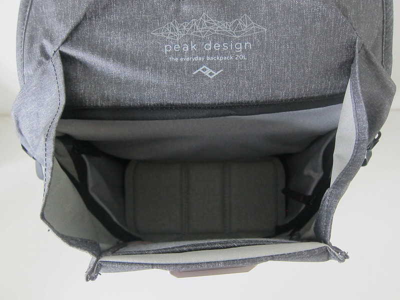 Peak Design Everyday Backpack 20L - Open