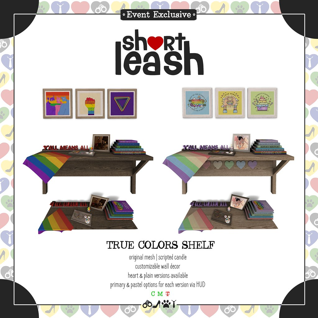 .:Short Leash:. True Colors Shelf