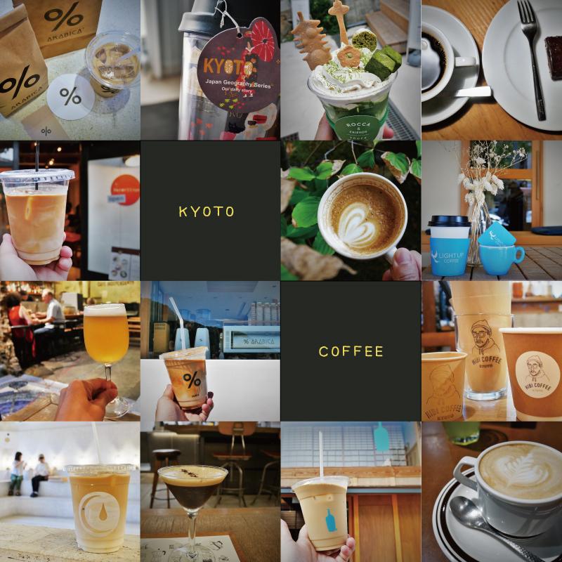 京都咖啡店散策地圖