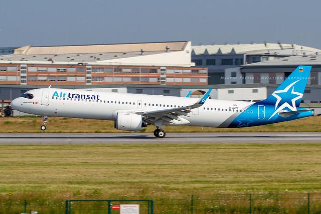 D-AVZT // Air Transat // A321-271NX/LR // MSN 8876 // C-GOIF
