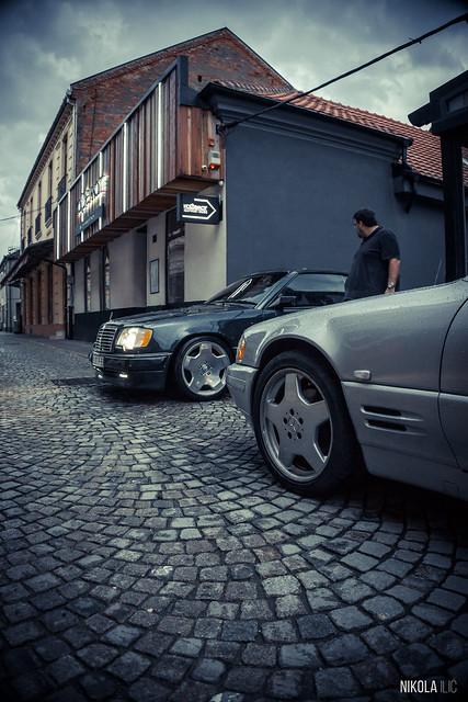 R129 SL320 & A124 3.6 AMG