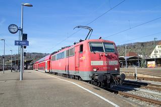 DB Regio 111 029 Plochingen