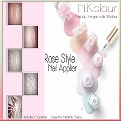 Rose Style Nail Applier Ad