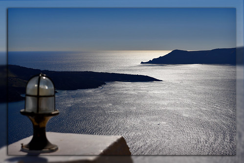 santorini greece oia matthiasolt blue ocean mare deepblue sunset landscape greatview holiday