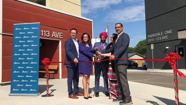New affordable housing opens for Edmonton families
