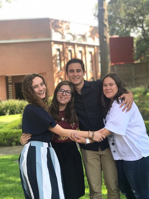 Colaboradores que estuvieron en Puebla