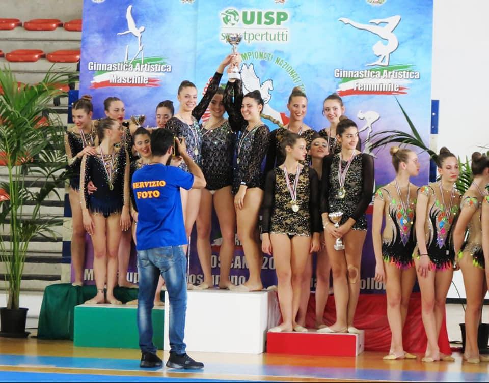 Ginnastica Ritmica: Successi e medaglie ai campionati nazionali per la società Il Cigno
