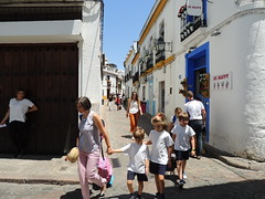 'Home from school' (Cordoba, Spain)