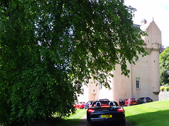 Porsche Cars at Craigievar Castle (3)