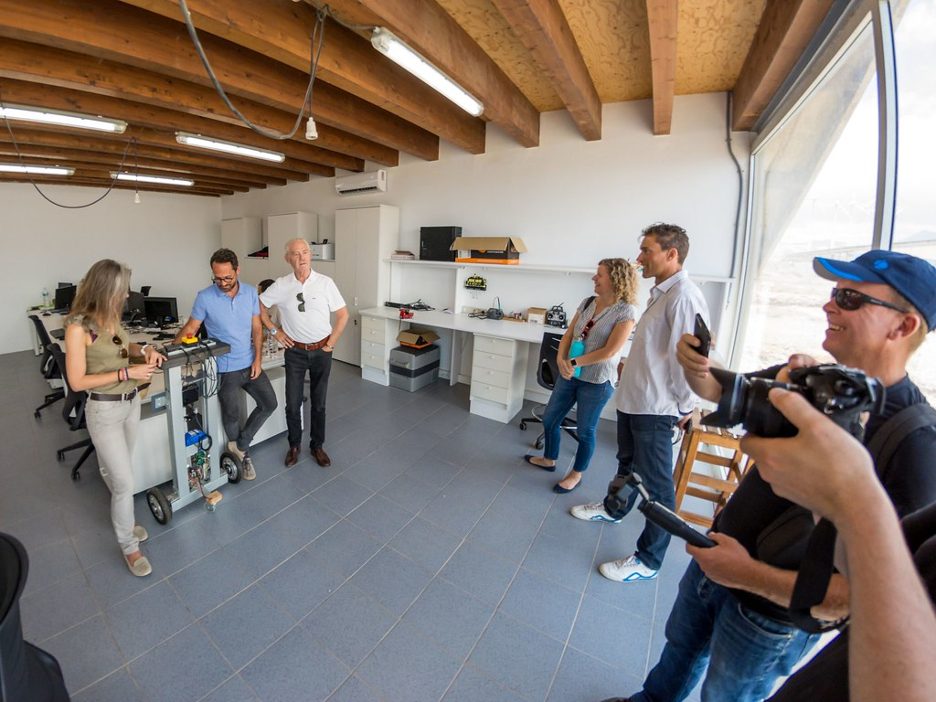 Canary Green Team Visit to ITER Tenerife Bioclimatic Houses