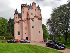 Porsche Cars at Craigievar Castle (22)