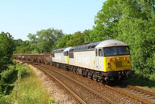 6Z91 at Test Lane, Redbridge