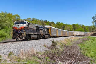 NS 288 w/ Central of GA Heritage