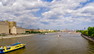 The Moscow river | by Tigra K