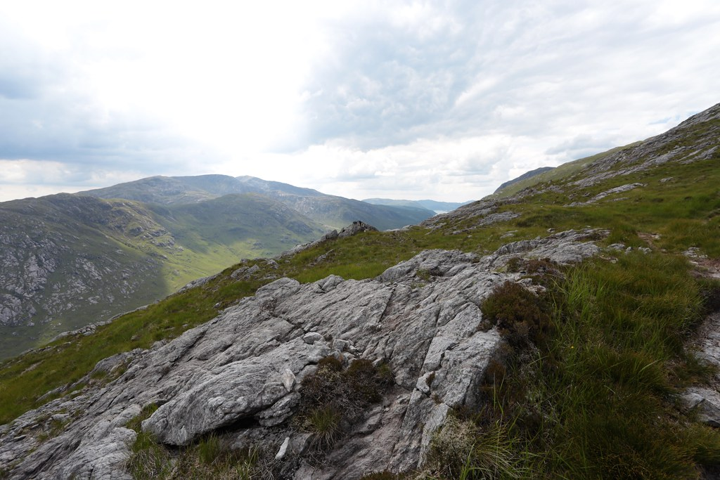 Towards Creach Bheinn and Loch Sunart