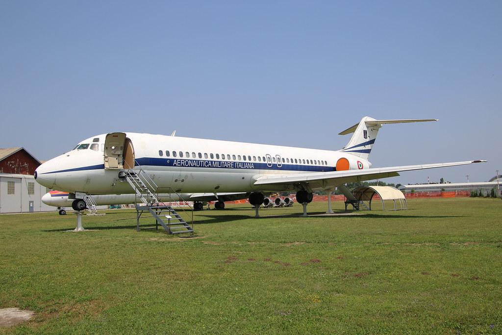 MM62012 Aeronautica Miltare Italiana (Italian Air Force) McDonnell Douglas DC-9-32 at the Volandia Museum, Volandia Parco e Museo del Volo Milan Malpensa Airport Italy (MXP/LIMC)