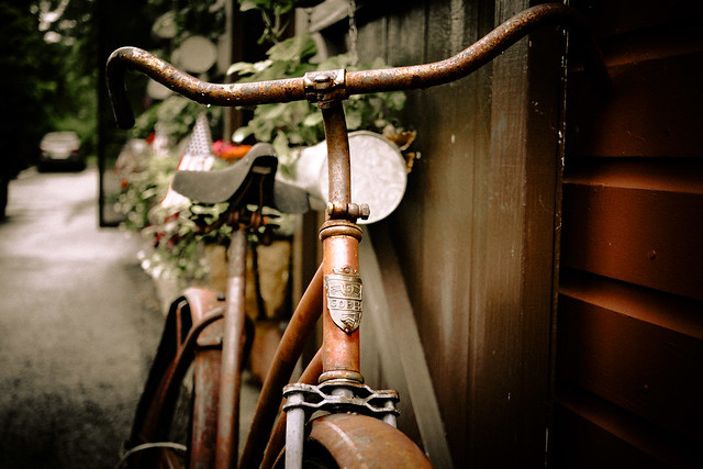 Rusty and Old (Bicycle Series No. 19)