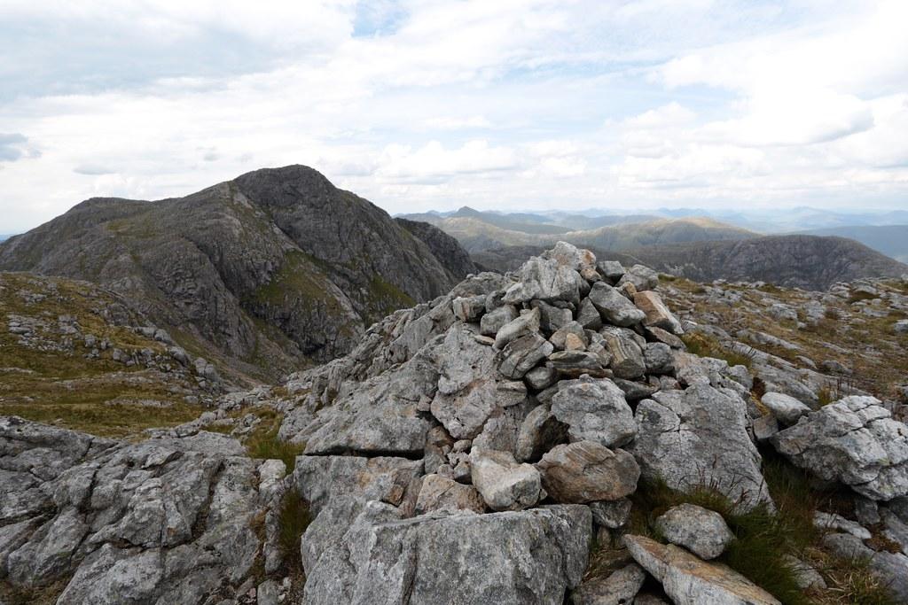 Summit of Sron a' Gharbh Choire Bhig
